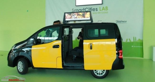 Los taxis del futuro serán puntos de información y venta con Wifi y otros servicios