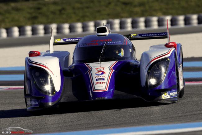 El TS030 Hybrid de Toyota Racing listo para competir