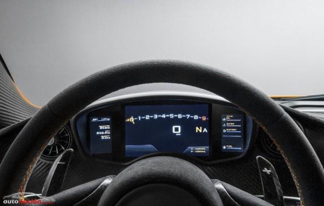 Detalles definitivos del McLaren P1: ¿Espartano = Victoria?