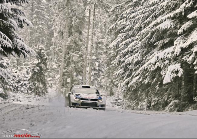 Volkswagen y el reto del Rally de Suecia