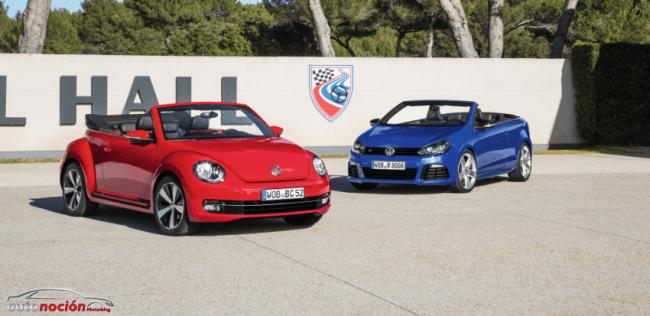 Volkswagen nos sorprende con el nuevo Beetle Cabrio y el Golf R Cabrio