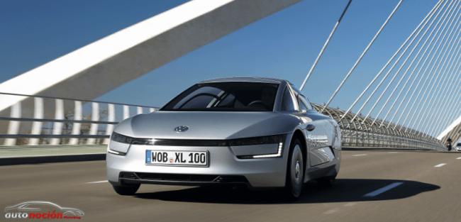 Volkswagen lanza el coche más eficiente del mundo: XL1