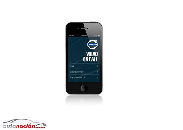 Con nueva App de Volvo On Call podrás relacionarte con tu Volvo de forma remota