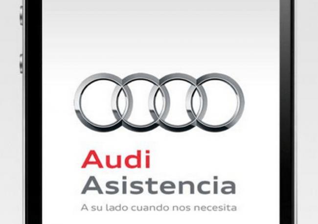 Asistencia técnica de Audi en la palma de tu mano