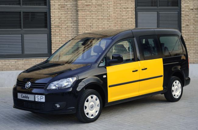 El Caddy Maxi 7 plazas homologado para taxi en Barcelona