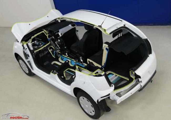 El prototipo Citroën C3 con la nueva tecnología Hybrid Air en Ginebra