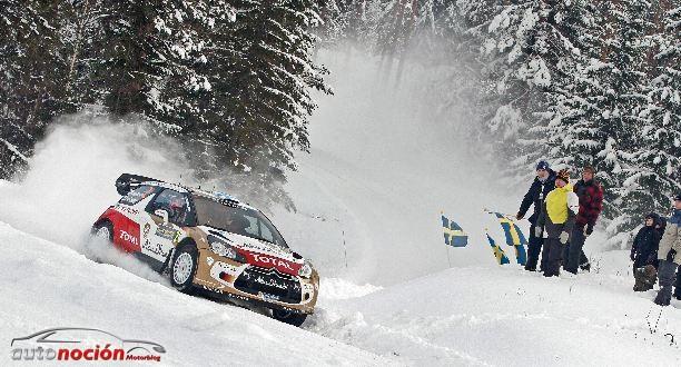 Loeb recorta la distancia con el líder