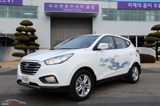 Hyundai producirá en serie vehículos de Pila de Combustible de Hidrógeno