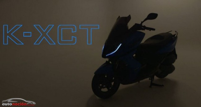 KYMCO nos muestra su nuevo scooter deportivo: K-XCT