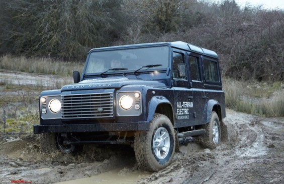 land rover all terrain electric