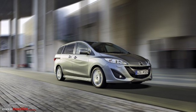 Nuevo Mazda5: más elegante, más cómodo y más seguro