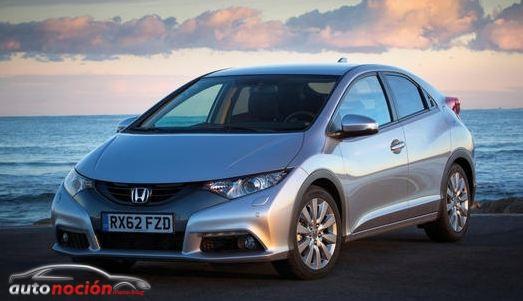 Honda anuncia las campañas para el Civic 1.6 que parte de los 18.900 euros