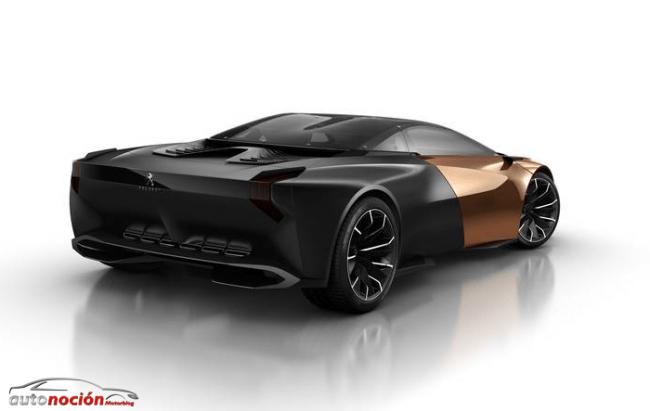 Peugeot Onyx: eficiencia y audacia