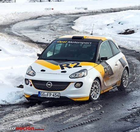 opel adam r2 rally