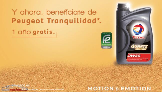 "Peugeot regala ""Tranquilidad"" a sus clientes"