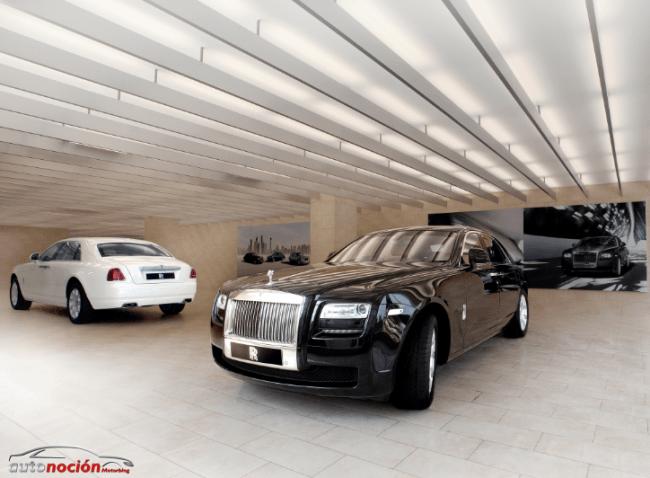 Rolls-Royce Motor inaugura la tercera sala de exposiciones en la India
