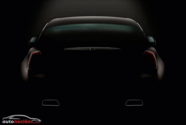Rolls Royce nos muestra la musculosa apariencia del Wraith