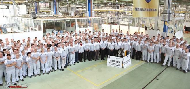 Fiat alcanza los 5.000.000 de motores 1.3 MultiJet fabricados