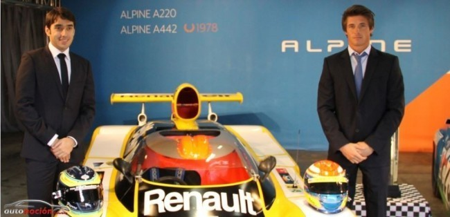 Nelson Panciatici conductor oficial Alpine