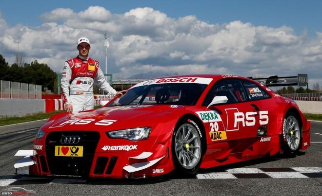 Miguel Molina nos enseña su nuevo Audi RS 5 DTM