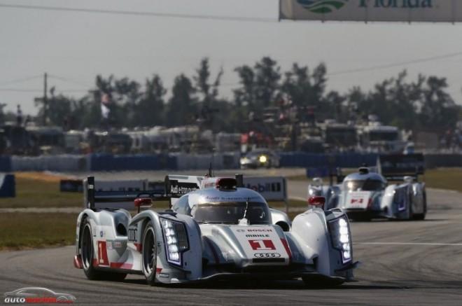 Primer doblete de Audi en las 12 horas de Sebring con coches híbridos