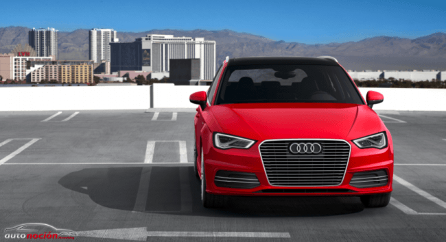 El Audi A3 Sportback e-tron