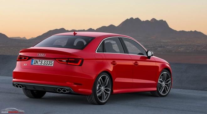 El Audi S3 Sedán: Prestaciones deportivas para la nueva berlina compacta
