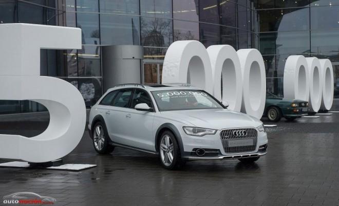 Cinco millones de Audi fabricados con tracción quattro