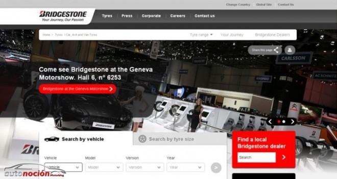 Encuentra tu neumático Bridgestone más adecuado