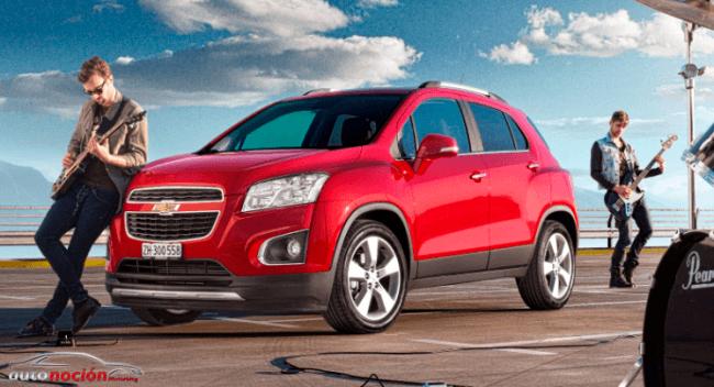 Chevrolet Trax con un precio de lanzamiento de 14.940 euros