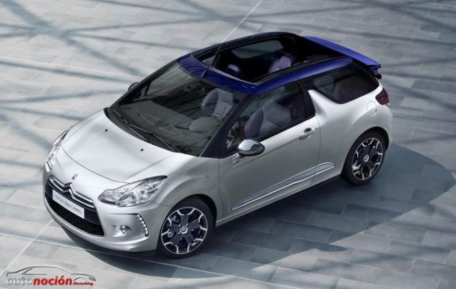 Ya a la venta en España el Citroën DS3 Cabrio