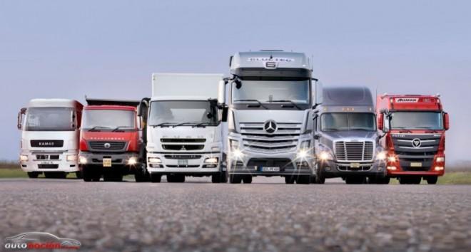 Daimler Trucks crece pero se resiente por la crisis