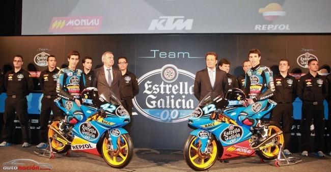 El equipo Estrella Galicia 0'0 se ha presentado en Barcelona