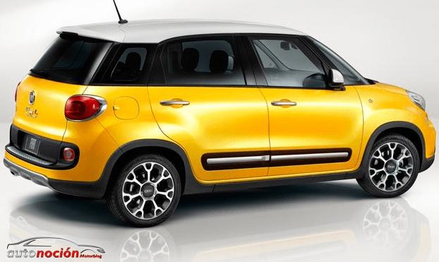 Novedad mundial de Fiat: Fiat 500L Trekking