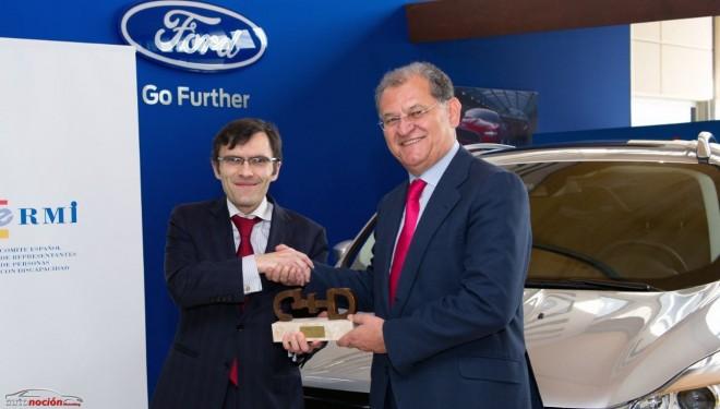 Ford España recibe el premio CERMI