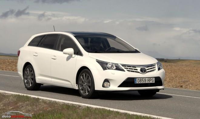 Toyota actualiza la gama Avensis para el mercado español