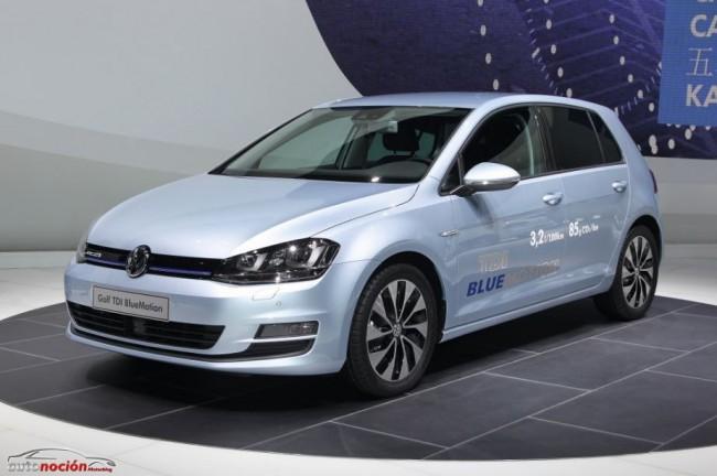 Volkswagen presenta a sus gemelos: Golf TDI BlueMotion y Golf TGI BlueMotion
