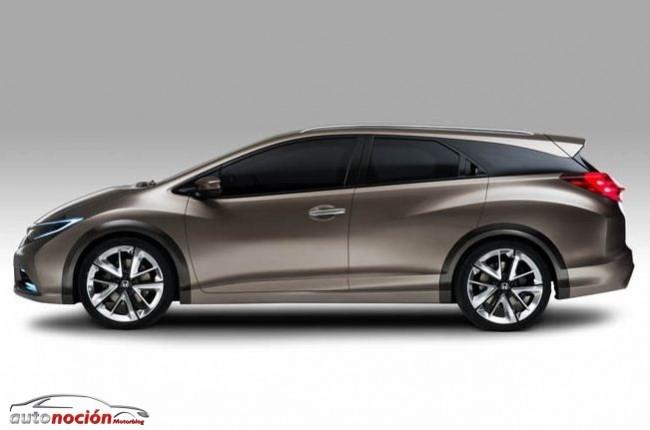 Honda nos desvela el Civic Tourer Concept en Ginebra