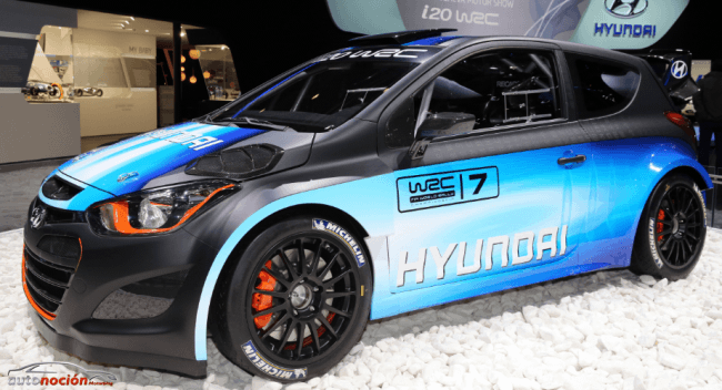 Hyundai presenta una evolución del i20 WRC en Ginebra