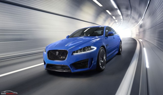 El nuevo Jaguar XFR-S y sus 550 cv en Goodwood