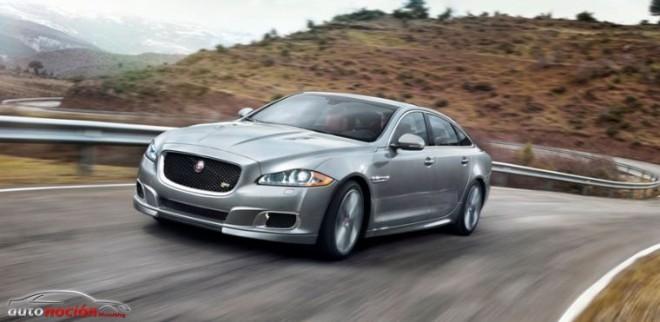 Debut del nuevo Jaguar XJR en salón internacional de NY 2013
