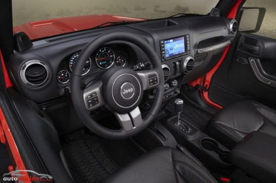 Jeep Wrangle Moab Interior