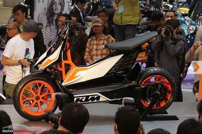 E-SPEED: ¡KTM desvela un proyecto de scooter en Tokyo!
