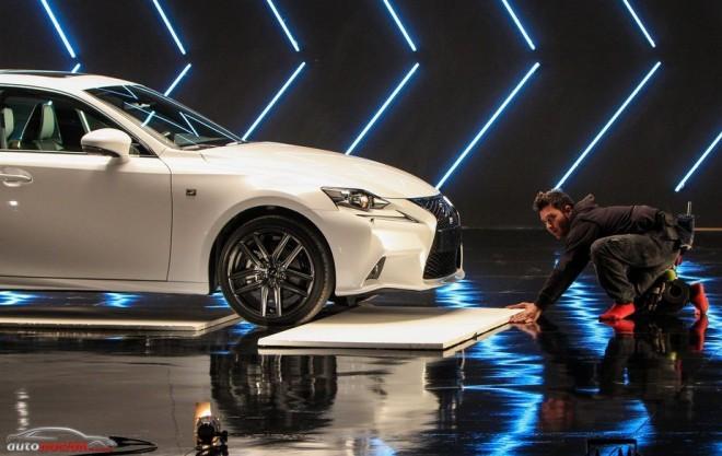 Lexus elige España para el spot del nuevo Lexus IS 300h