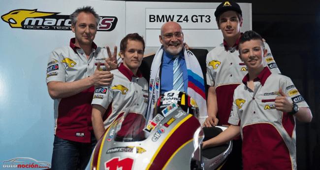 Presentación en Bélgica del Marc VDS Racing Team