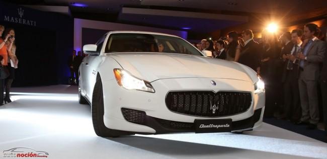 El nuevo Maserati Quattroporte se presenta en sociedad