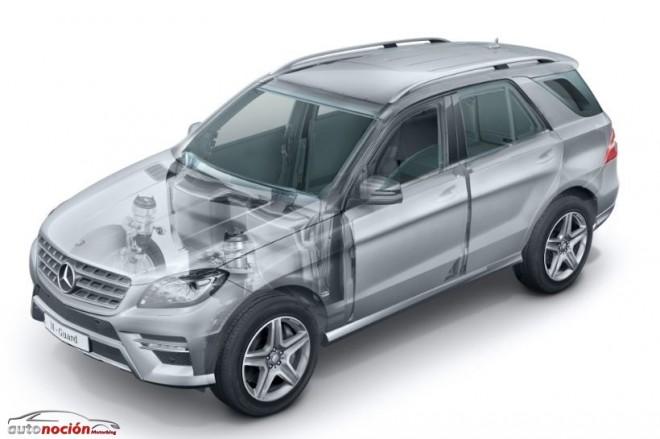 Mercedes-Benz M Guard: Un SUV a prueba de balas