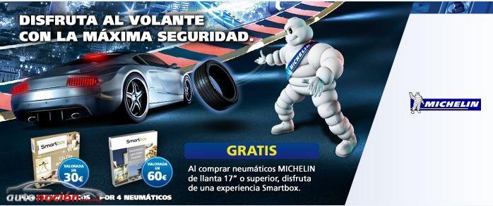 Si tienes que cambiar tus neumáticos, atento a la promoción de Michelin