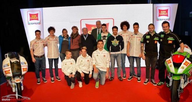 El San Carlo Team Italia presenta su renovado proyecto para 2013