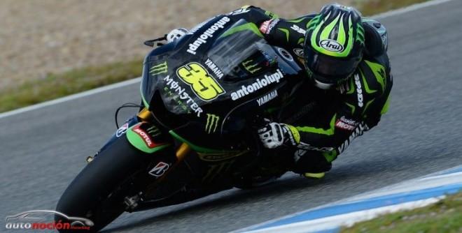 Crutchlow, encabeza la sesión final de la pretemporada en MotoGP